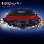 Bug Shield Guard for Mazda BT50 Pro 2016 Black