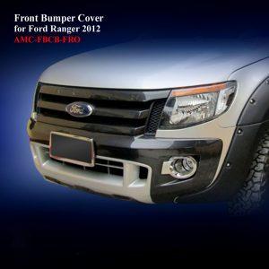 Front Bumper Cover in Matte Black