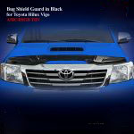 Bug Shield Guard for Toyota Hilux Revo 2012 in Black