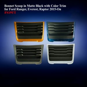 Matte Black with Color Trim