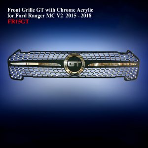 Front Grille GT with Chrome Acrylic