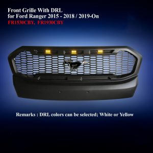 Front Grille With DRL