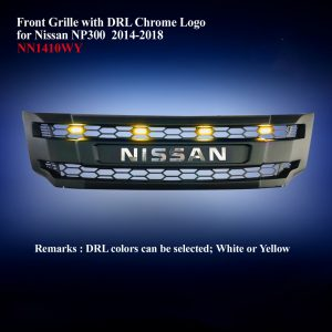 Front Grille with DRL Chrome Logo